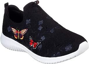 Skechers Ultra Flex Flutter Away Womens Slip On Sneakers