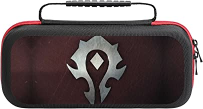 $20 » World Warcraft Red Bag, Switch Travel Carrying Case for Switch Lite Console and Accessories, Shell Protective Cover Organi...