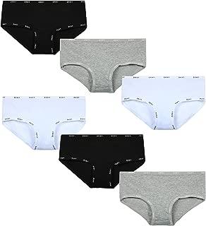 DKNY Girls Cotton/Spandex Hipster Underwear (6 Pack)