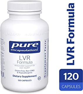 Pure Encapsulations - LVR Formula - Hypoallergenic Supplement with Antioxidant Support for Liver Cell Health* - 120 Capsules