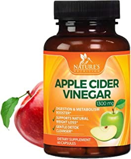 apple cider vinegar pills for weight loss by Nature's Nutrition