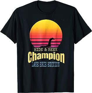 Lake Erie Bessie Hide and Seek Champion Monster Shirt