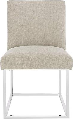 Amazon.com: Modern Contemporary Linen Fabric Living Room ...