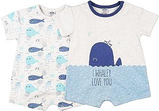 Charanga Mayenil Mamelucos para bebés y niños pequeños (Pack de 2) Unisex bebé