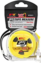 Performance Tool - 25' Clear Tape Measure (W5041), Hand Tools - Tape Measures & Layout Tools