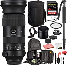 $1999 » Sigma 60-600mm f/4.5-6.3 DG OS HSM Sports Lens for Nikon F (730955) with Bundle Package Deal Kit Includes: UV Filter + SanDisk Extreme Pro 64gb SD Card + More