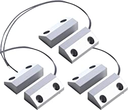 UHPPOTE NC Wired Window Magnetic Contact Sensor Detector Switch for GSM Home Alarm Security (Pack of 3)