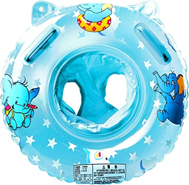 StillCool Baby Swimming Float, Inflatable Swimming Ring with Float Seat for 6 Months-6 Years Children(New Blue)