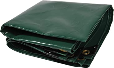 NEMAXX PLA34 Premium dekzeil 300x200 cm groene met ogen, 650 g/m² PVC waterdicht - voor vrachtwagen, zwembad - afdekking, ...