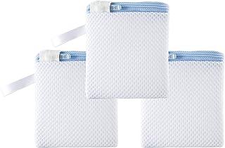 Phyllis A 洗濯洗剤ネット 洗濯マグちゃん マグネシウムネット ミニネット DIY洗濯 洗浄 Blue 3枚