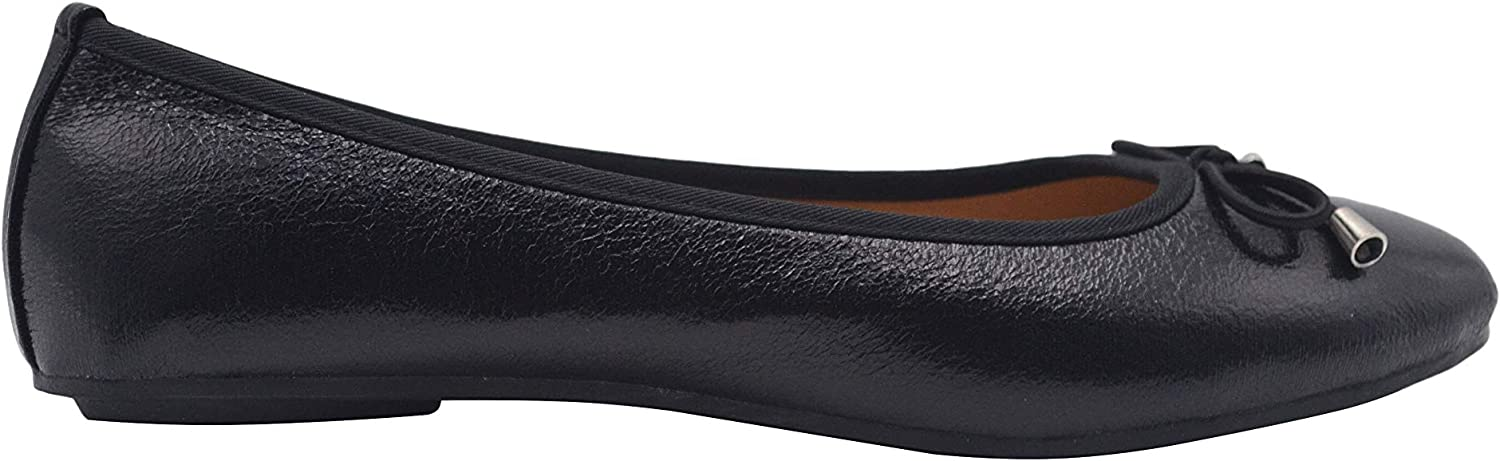 DELiAs Ladies Ballet Flats Iridescent Slip On shoes with Bow