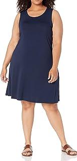 Amazon Essentials Women's Plus Size Tank Swing Dress