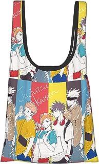 咒术回战 环保袋 折叠 时尚 购物袋 便利店包 人气 大容量 实用 防水 可爱 肩挂 轻便 可洗 购物袋