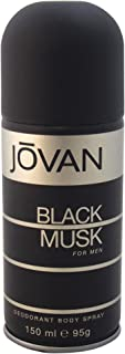 Jovan Musk Body Spray For Men, 150ml