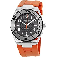 Hamilton Men's Stainless Steel Automatic Watch w/ Black Dial (H78615985)