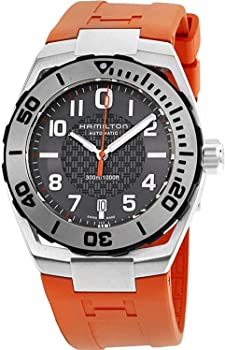 Hamilton Men's Stainless Steel Automatic Watch w/ Black Dial