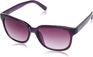 Fastrack UV Protected Wayfarer Women's Sunglasses (P286PR1F|54|Purple)