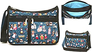 LeSportsac Midnight Masquerade Deluxe Everyday Crossbody Bag + Cosmetic Bag, Style 7507/Color F092