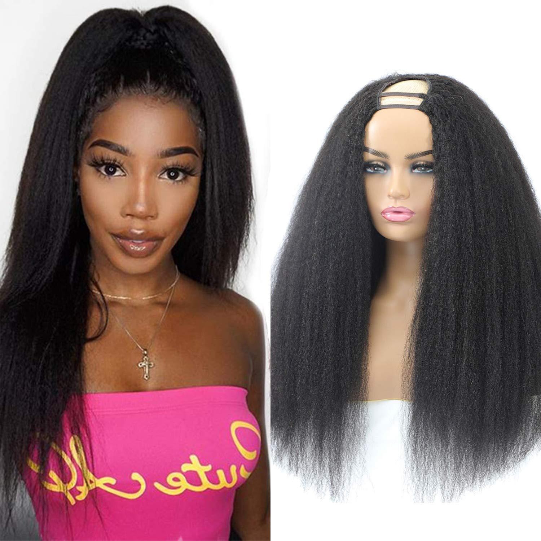 お得クーポン発行中 U Part Wig Human Hair Yaki 12A Upart 至上 H