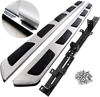 Mophorn Running Boards Stainless Steel Side Step Nerf Bars for Audi Q7 2007-2015 4-Door