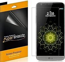 (6 Pack) Supershieldz Anti Glare and Anti Fingerprint (Matte) Screen Protector Shield for LG G5