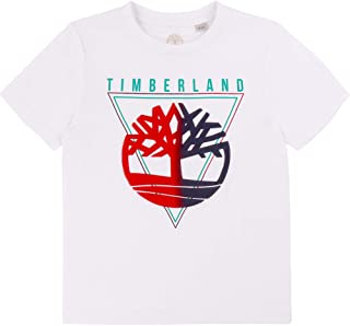 Timberland Camiseta de algodón orgánico NIÑO