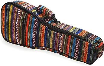 CAHAYA Ukulele Bag Concert Ukulele Case 23 Inch Soft 0.35 Inch Thick Cotton Padded with Adjustable Straps (23 inch)