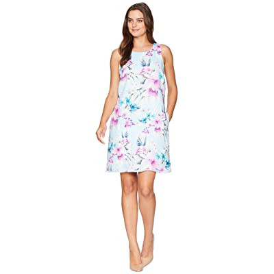Tommy Bahama Florencia Shift Dress (Spring Rain) Women