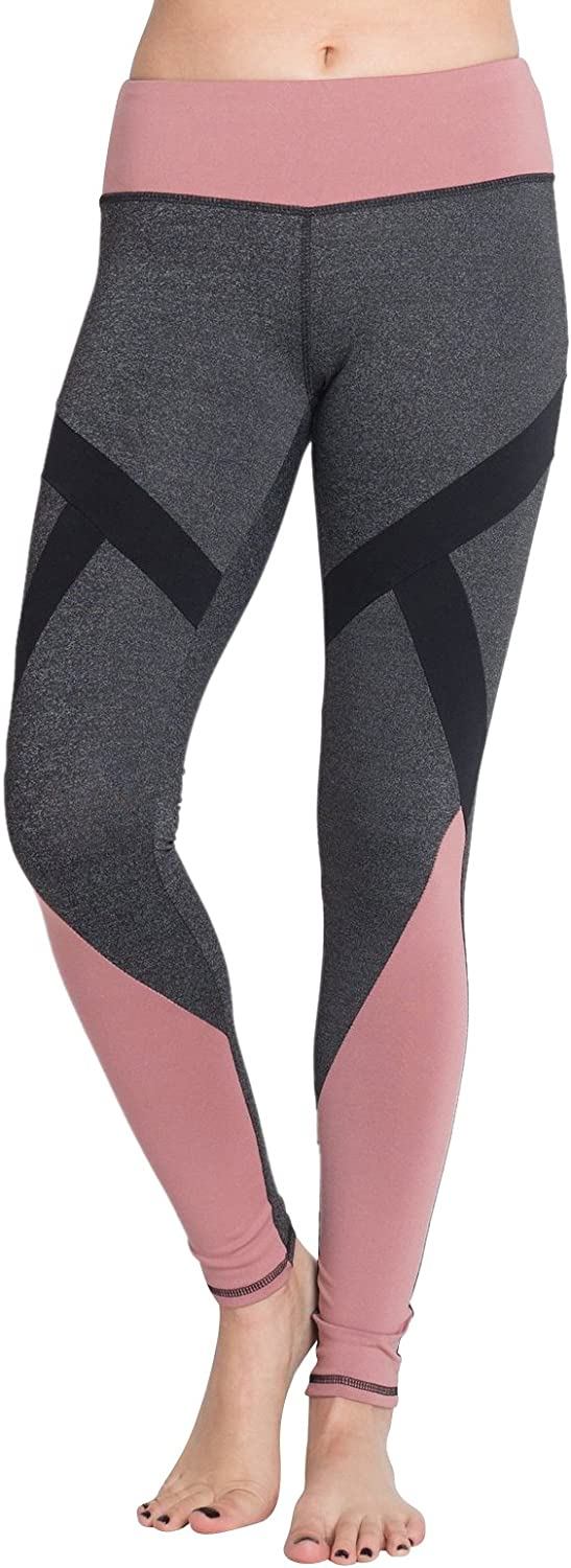 Brooke Taylors Yoga pink Slim Yoga Leggings Tummy Control Womens Yoga Pants