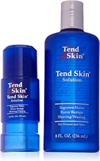 Tend Skin 8 Ounce and Refillable Roll On 2.5 Ounce Combo