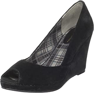 Chinese Laundry Women's Shooter Open-Toe Pump,Black,7.5 M US