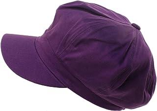3443a6d5a5d Summer 100% Cotton Plain Blank 8 Panel Newsboy Gatsby Apple Cabbie Cap Hat