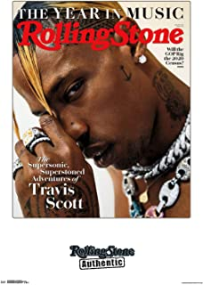 Trends International Rolling Stone Magazine - Travis Scott 19 Wall Poster, 22.375