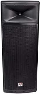 "Rockville Dual 15"" 3000w 2-Way 4-Ohm Passive DJ PA Speaker/ABS Cabinet, 15 inch (SPGN254)"