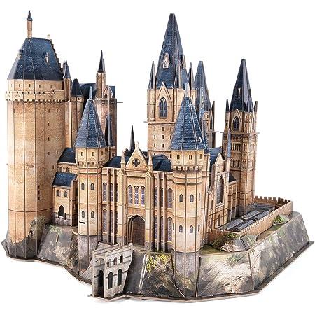 CubicFun Puzzle 3D Harry Potter Poudlard Tour astronomie - Poudlard Modèle de construction et Kit de construction Cadeaux pour adulte et enfant, 243 Pièces