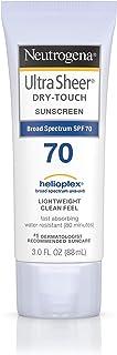 Neutrogena, Ultra Sheer DryTouch Sunblock SPF70 for Unisex, 88 millilitre