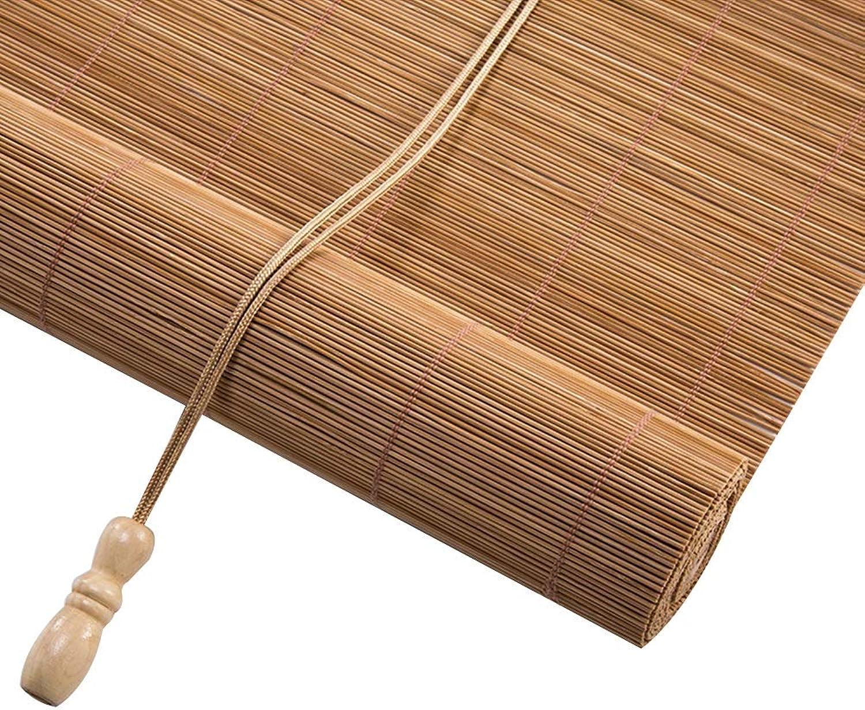 a la venta Filtrar La Luz Enrollables Persianas con Cenefa, Persianas Enrollables Enrollables Enrollables De Bambú para Windows, Cortina De Bambú Sombreado 50% (Color   Hooking, Tamao   80x160cm)  barato y de alta calidad