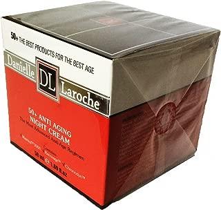 Danielle Laroche 50+ Anti Aging Night Cream with Matrixyl, Renovage, and Chronodyn.