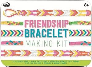 NPW-USA DIY Multicolored Friendship Bracelet Making Kit