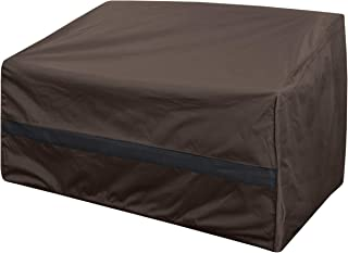 True Guard Patio Furniture Covers Waterproof Heavy Duty - Loveseat Cover, 600D Rip-Stop, Fade/Stain/UV Resistant for Outdo...