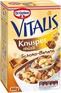Dr. Oetker Vitalis Crunchy Chocolate Banana Muesli 600g