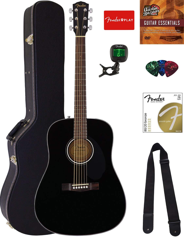 Fender CD 60S Dreadnought Acoustic Guitar