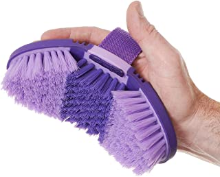 Tough 1 Great Grips Flex Finishing Brush, Purple/Light Purple