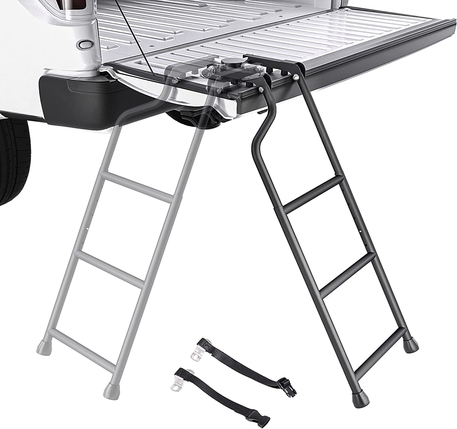 AA Product Tailgate Rapid rise Max 79% OFF Ladder Pickup Truck Foldable