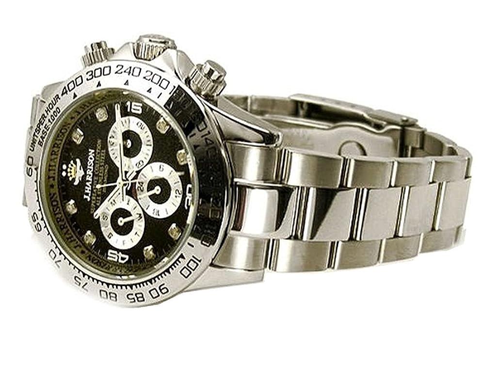 首尾一貫した耳のぞき見機械式 高級腕時計 [ ジョンハリソン ] 自動巻 腕時計 メンズ 紳士 誕生日プレゼント 3014DS