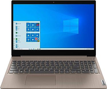 "2020 Newest Lenovo IdeaPad 3 15"" HD Touch Screen Laptop, Intel 10th Gen Dual-Core i3-1005G1 CPU, 8GB DDR4 RAM, 256GB PCI-e SSD, Webcam, WiFi 5, Bluetooth, Windows 10 S - Almond"