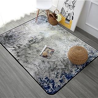 Area Rugs Simple Geometric Carpet Home Rectangular Bedside Blanket Skin-friendly Eco-friendly Carpet Living Room Bedroom F...