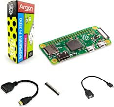 Argon Forty Raspberry Pi Zero Barebones kit | NO WiFi, NO Bluetooth | Mini HDMI Video-Audio | Can Run Python 3 | NOT Included: Power Supply, Power Switch, Micro SD Card, and Case
