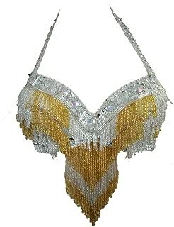 tribal fusion belly dance bra