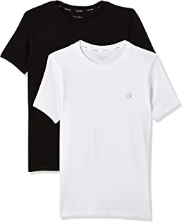 Calvin Klein SS tee Camiseta (Pack de 2) para Niños